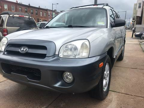 2005 Hyundai Santa Fe for sale at K J AUTO SALES in Philadelphia PA