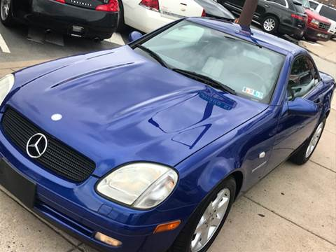 2000 Mercedes-Benz SLK for sale at K J AUTO SALES in Philadelphia PA