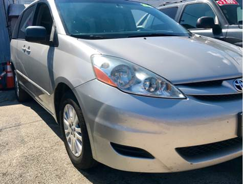 2008 Toyota Sienna for sale at K J AUTO SALES in Philadelphia PA