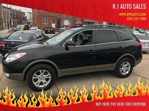 2011 Hyundai Veracruz for sale at K J AUTO SALES in Philadelphia PA