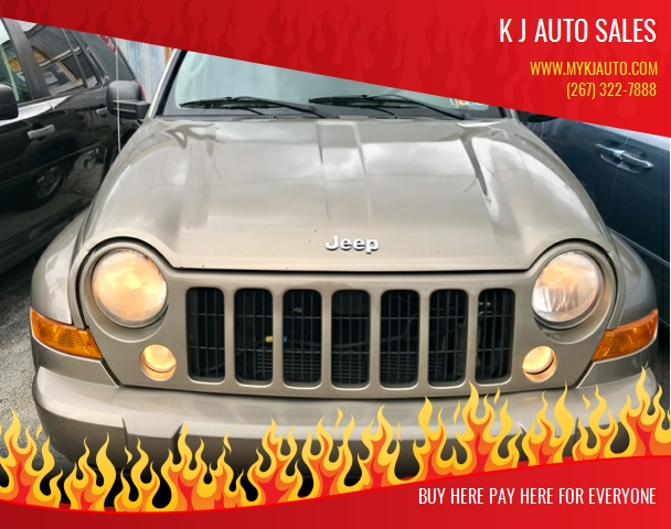 2007 Jeep Liberty for sale at K J AUTO SALES in Philadelphia PA