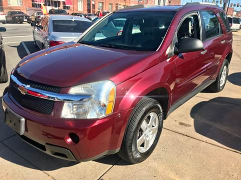 2009 Chevrolet Equinox for sale at K J AUTO SALES in Philadelphia PA
