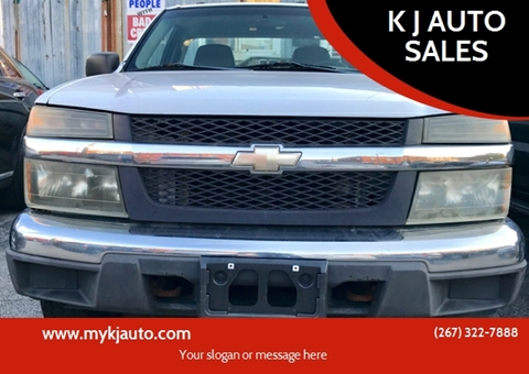 2004 Chevrolet Colorado for sale at K J AUTO SALES in Philadelphia PA