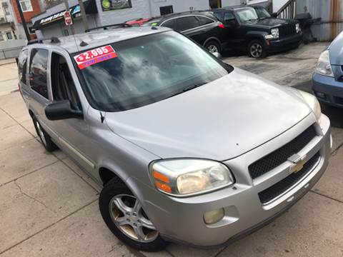 2005 Chevrolet Uplander for sale at K J AUTO SALES in Philadelphia PA