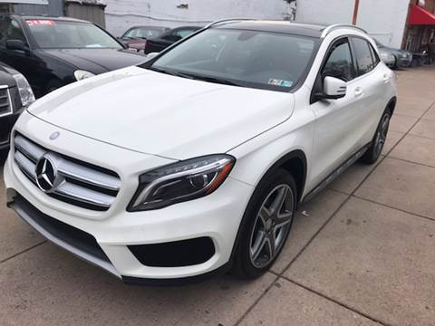 2015 Mercedes-Benz GLA for sale at K J AUTO SALES in Philadelphia PA