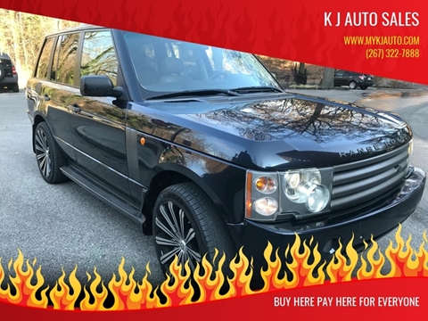 2003 Land Rover Range Rover for sale in Philadelphia, PA