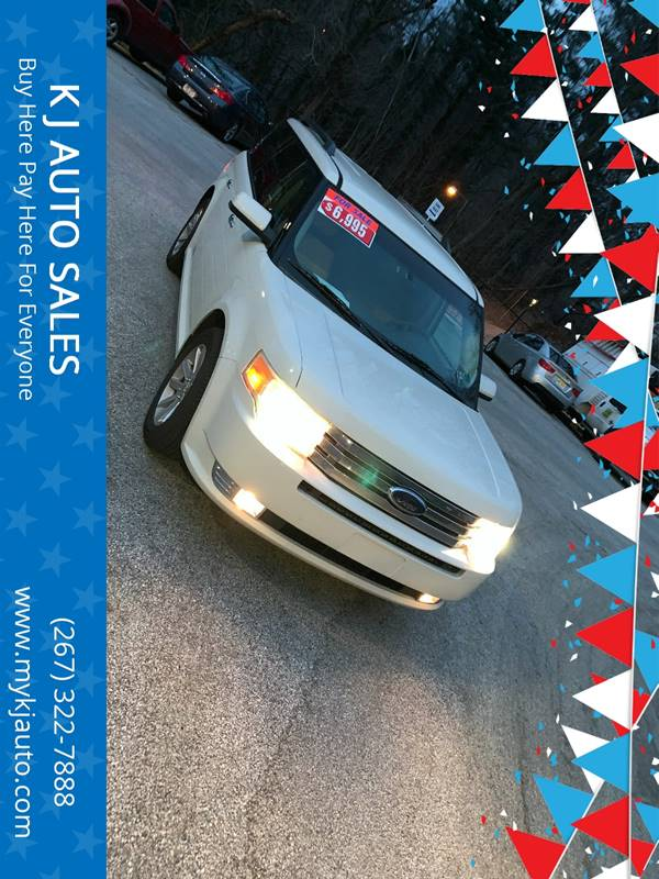 2009 Ford Flex for sale at K J AUTO SALES in Philadelphia PA