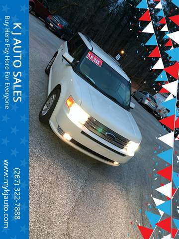 2009 Ford Flex for sale at K J AUTO SALES in Philadelphia PA