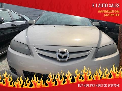 2008 Mazda MAZDA6 for sale at K J AUTO SALES in Philadelphia PA