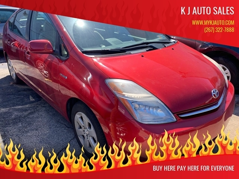 2006 Toyota Prius for sale at K J AUTO SALES in Philadelphia PA