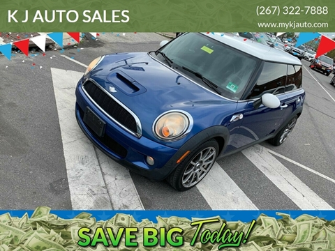 2007 MINI Cooper for sale at K J AUTO SALES in Philadelphia PA