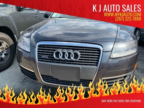 2006 Audi A6 for sale at K J AUTO SALES in Philadelphia PA