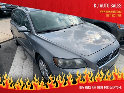 2006 Volvo V50 for sale at K J AUTO SALES in Philadelphia PA