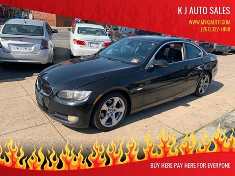 2007 BMW 3 Series for sale at K J AUTO SALES in Philadelphia PA