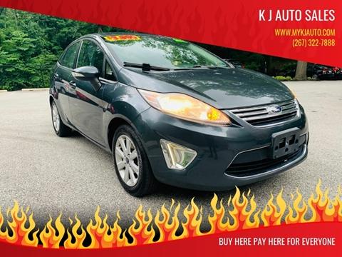 2011 Ford Fiesta for sale at K J AUTO SALES in Philadelphia PA