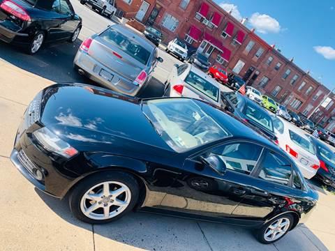 2009 Audi A4 for sale at K J AUTO SALES in Philadelphia PA