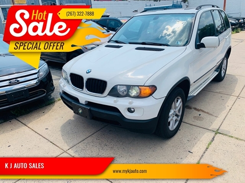 2004 BMW X5 for sale at K J AUTO SALES in Philadelphia PA