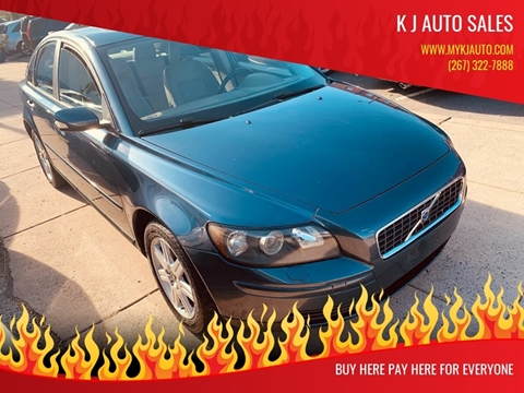 2006 Volvo S40 for sale at K J AUTO SALES in Philadelphia PA