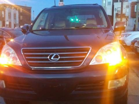 2005 Lexus GX 470 for sale at K J AUTO SALES in Philadelphia PA