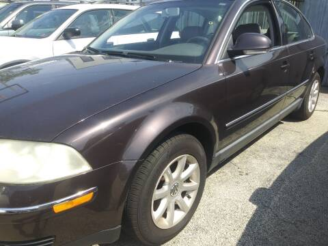 2004 Volkswagen Passat for sale at K J AUTO SALES in Philadelphia PA