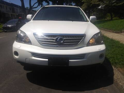 2008 Lexus RX 400h for sale at K J AUTO SALES in Philadelphia PA