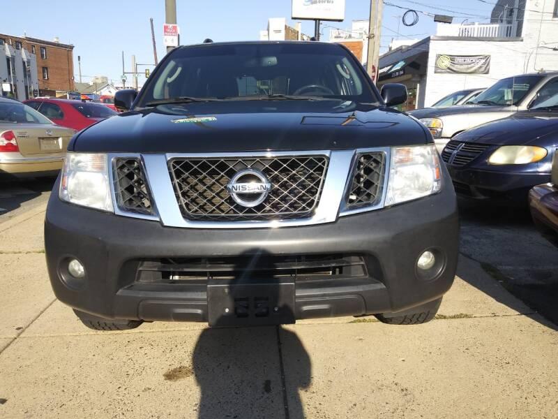 2012 Nissan Pathfinder for sale at K J AUTO SALES in Philadelphia PA
