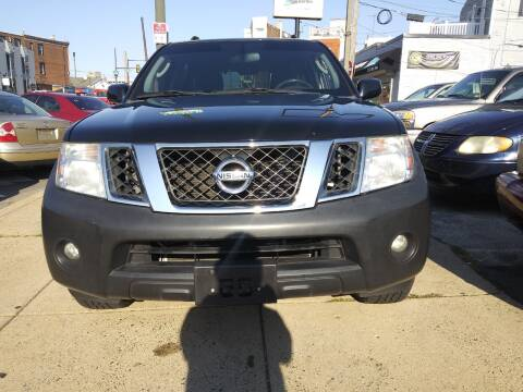 2012 Nissan Pathfinder for sale at K J AUTO SALES in Philadelphia PA