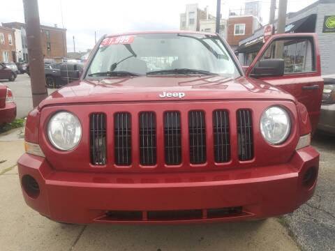 2008 Jeep Patriot for sale at K J AUTO SALES in Philadelphia PA