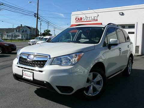 2015 Subaru Forester for sale at MY CAR OUTLET in Mount Crawford VA