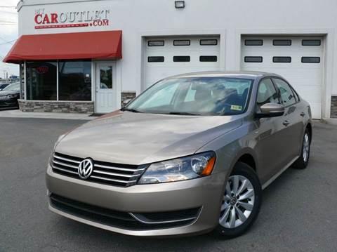 2015 Volkswagen Passat for sale at MY CAR OUTLET in Mount Crawford VA