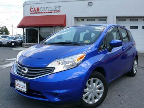 2015 Nissan Versa Note for sale at MY CAR OUTLET in Mount Crawford VA