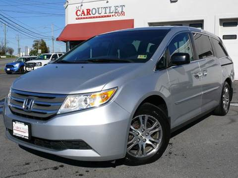 2011 Honda Odyssey for sale at MY CAR OUTLET in Mount Crawford VA