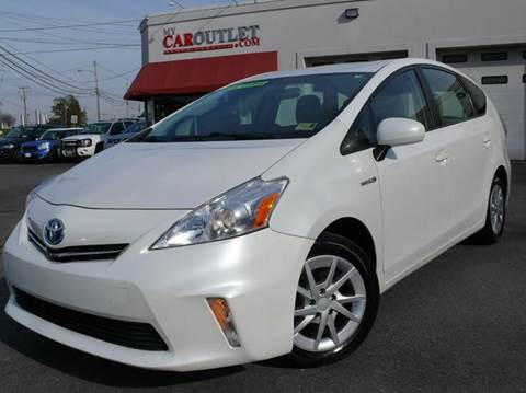 2013 Toyota Prius v for sale at MY CAR OUTLET in Mount Crawford VA