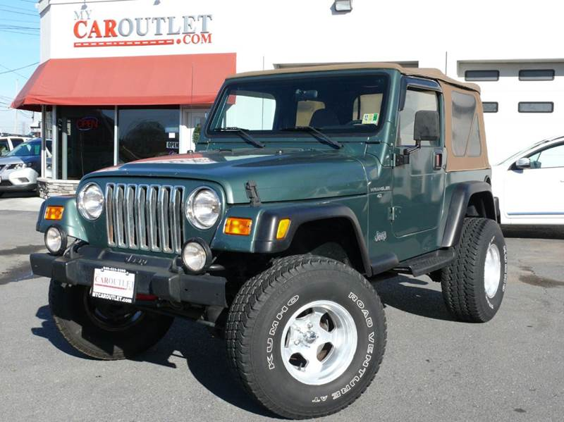 2000 Jeep Wrangler for sale at MY CAR OUTLET in Mount Crawford VA