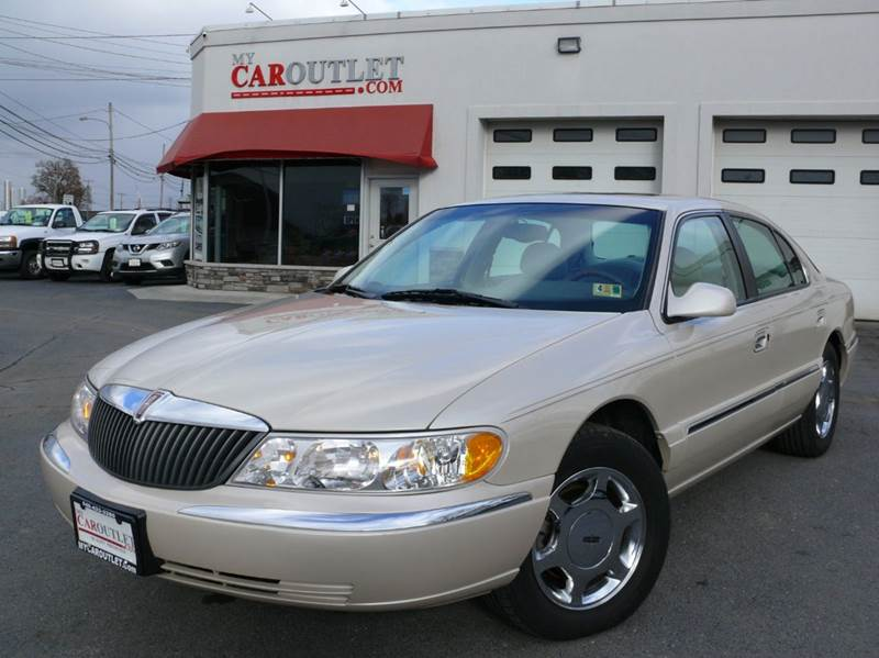 2000 Lincoln Continental for sale at MY CAR OUTLET in Mount Crawford VA