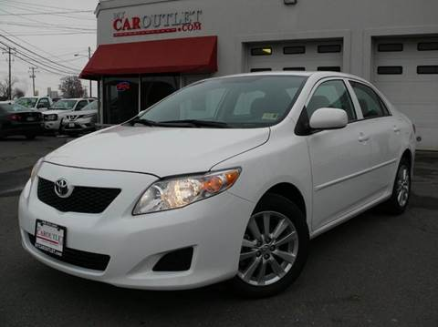 2010 Toyota Corolla for sale at MY CAR OUTLET in Mount Crawford VA