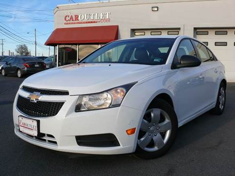 2012 Chevrolet Cruze for sale at MY CAR OUTLET in Mount Crawford VA