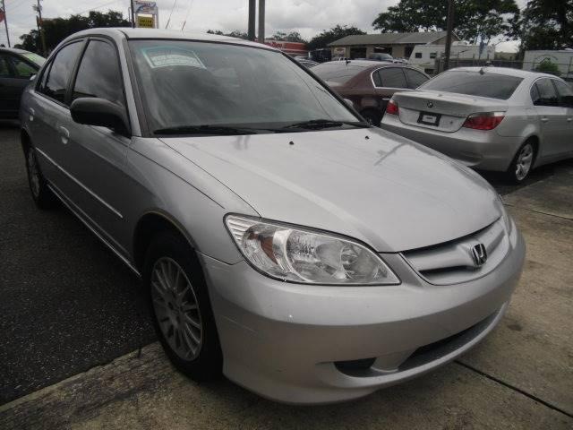 2005 Honda Civic LX 4dr Sedan   New Port Richey FL