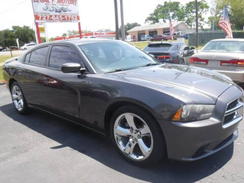 2013 Dodge Charger SXT for sale at LEGACY MOTORS INC in New Port Richey FL