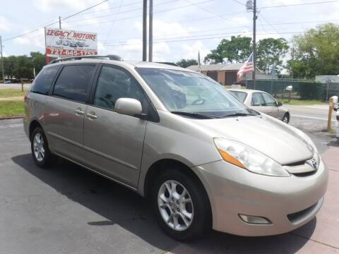 2006 Toyota Sienna XLE Limited 7 Passenger for sale at LEGACY MOTORS INC in New Port Richey FL