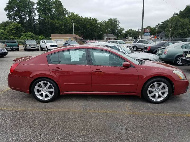 2007 Nissan Maxima for sale at A-1 Auto Sales in Anderson SC