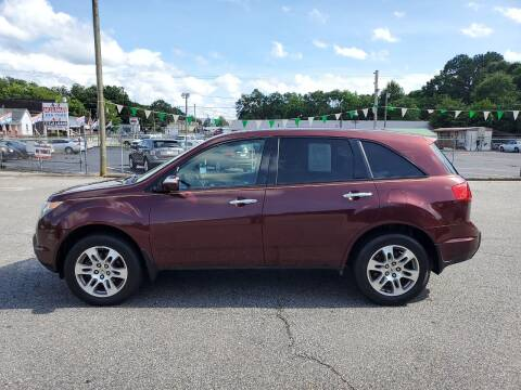 2007 Acura MDX for sale at A-1 Auto Sales in Anderson SC