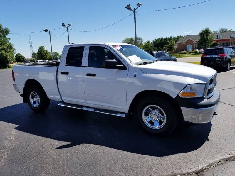 2010 Dodge Ram Pickup 1500 4x4 ST 4dr Quad Cab 6.3 ft. SB Pickup - Muskego WI