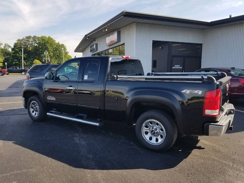 2010 GMC Sierra 1500 4x4 SL 4dr Extended Cab 6.5 ft. SB - Muskego WI