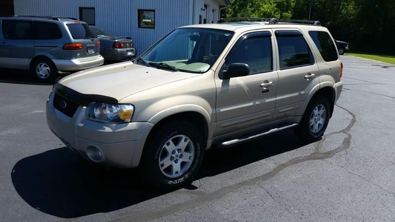 2007 Ford Escape for sale at SINDIC MOTORCARS INC in Muskego WI