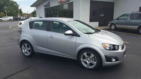 2015 Chevrolet Sonic for sale at SINDIC MOTORCARS INC in Muskego WI