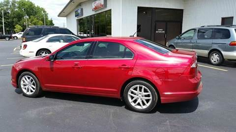 2012 Ford Fusion for sale at SINDIC MOTORCARS INC in Muskego WI