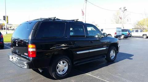 2003 GMC Yukon for sale at SINDIC MOTORCARS INC in Muskego WI