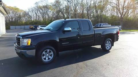2010 GMC Sierra 1500 for sale at SINDIC MOTORCARS INC in Muskego WI