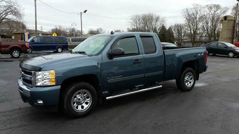 2010 Chevrolet Silverado 1500 for sale at SINDIC MOTORCARS INC in Muskego WI